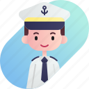 avatar, boy, captain, diversity, man, people, profession