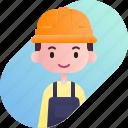 avatar, boy, diversity, engineer, man, people, profession