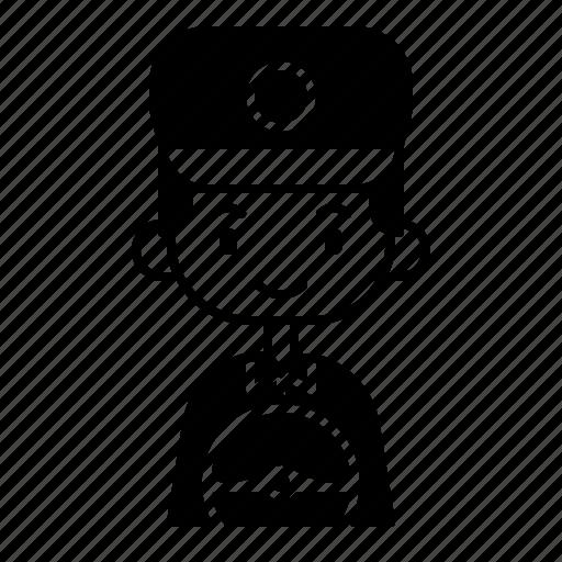 avatar, boy, diversity, driver, man, people, profession icon