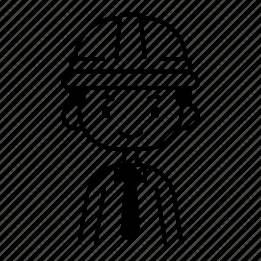 avatar, boy, diversity, foreman, man, people, profession icon