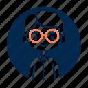 avatar, boy, diversity, man, people, profession, teacher icon
