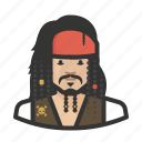 avatar, captain jack sparrow, jack sparrow, male, man, pirate, pirates of the caribbean