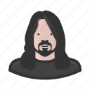 dave grohl, foo fighters, grunge, rockstar icon