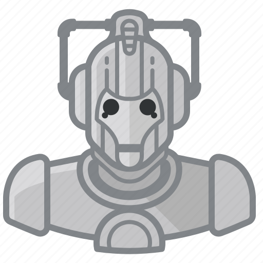 cyberman, doctorwho, robot, whovian icon