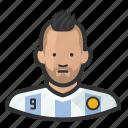 aguero, argentina, footballer, kun aguero, mancity, soccer icon