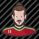 footballer, garreth bale, madrid, male, man, soccer, wales icon