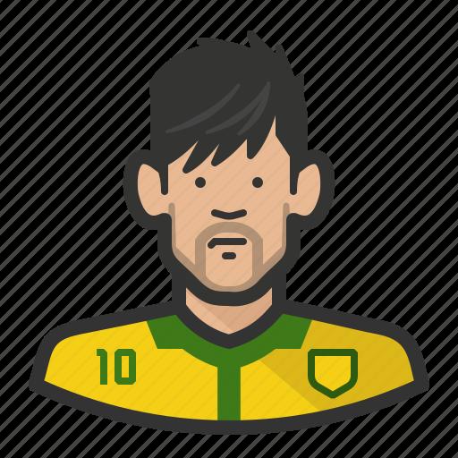 brazil, footballer, neymar, njr, psg, soccer icon