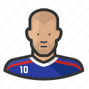 footballer, france, madrid, soccer, zidane, zinadine zidane, zizou icon