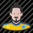 footballer, ibram, psg, soccer, sweden, zlatan, zlatan ibrahimavic icon