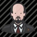 dictator, lenin, russia, soviet icon