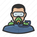 airtank, diver, male, man, mask, scuba, swimmer