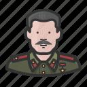 dictator, russia, soviet, stalin icon