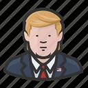 america, donald trump, manchild, potus, president, trump icon