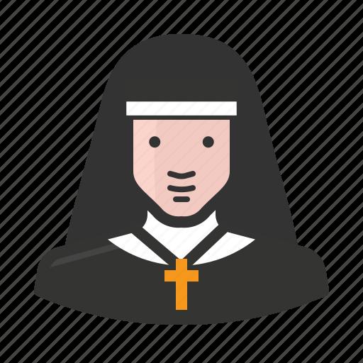 avatar, catholic, christian, clergy, nun, religion, sister icon