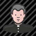 avatar, biship, catholic, christian, clergy, priest, religion icon