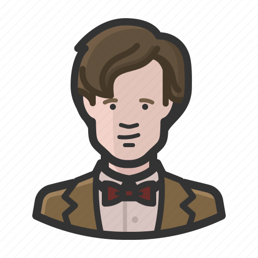 avatar, bbc, doctor who, eleven, sci-fi, science fiction, the doctor icon
