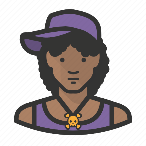 african, avatar, female, girl, hiphop, woman icon
