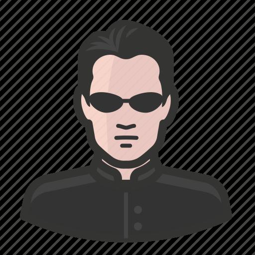 man, matrix, neo, sci-fi, science fiction icon