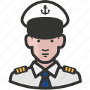 avatar, man, military, navy icon