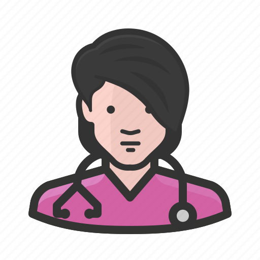 avatar, female, girl, healthcare, medicine, nurse, woman icon