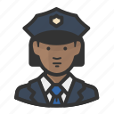 woman, police, avatar, cop, girl, law enforcement, female, african