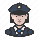 woman, police, avatar, cop, girl, law enforcement, female