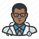 avatar, man, surgeon, african, healthcare, medicine