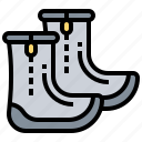boots, diving, equipment, underwater icon