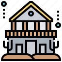 architecture, building, civilization, deep, underwater icon