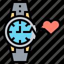 clock, heart, heartbeat, rate, watch