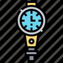 diving, equipment, gauge, oxygen, underwater
