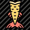 costume, diving, mermaid, swimming, tail