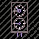 diving, gauge, meter, pressure icon