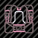 bcd, diving, gear, scuba