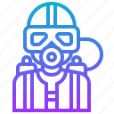 activity, diver, frogman, recreation, underwater icon