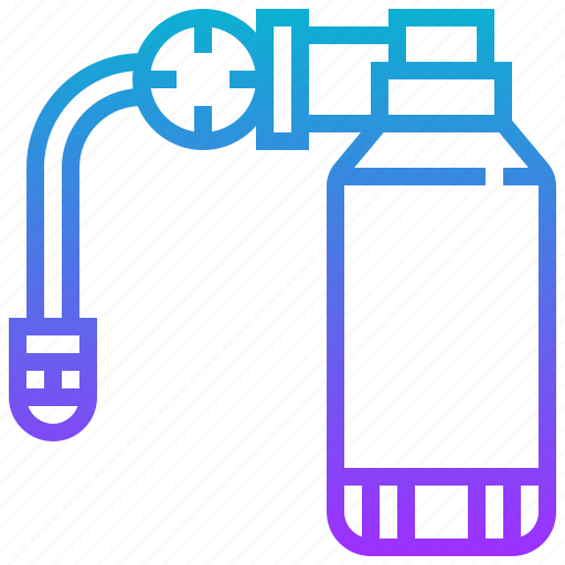 cylinder, diving, gas, scuba, tank icon