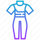 clothing, scuba, sports, swimming, wetsuit icon
