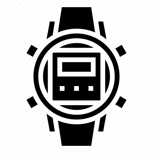 accessories, diving, time, watch, watchphone icon