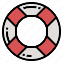 guard, life, lifebuoy icon