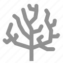 aquatic, coral icon