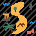 island, map icon