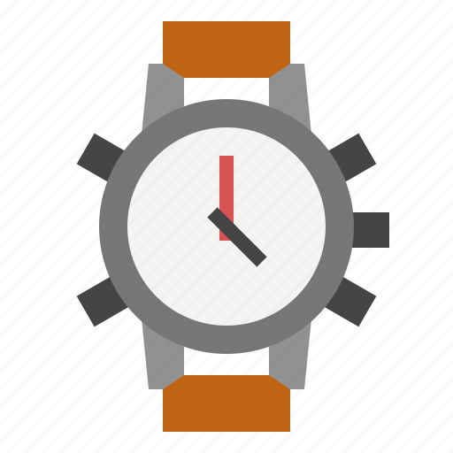stop, timer, watch icon