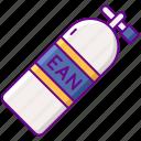 ean, diving, gear, tank