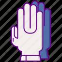 gloves, diving, gear