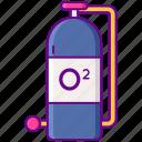oxygen, bottle, tank, diving