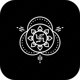 celebration, deepavali, design, diwali, drawing, festival, rangloi icon