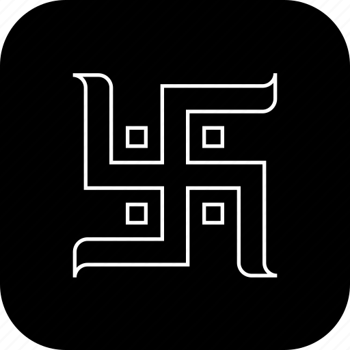 drawing, hindu, religion, sign, swastika, worship icon