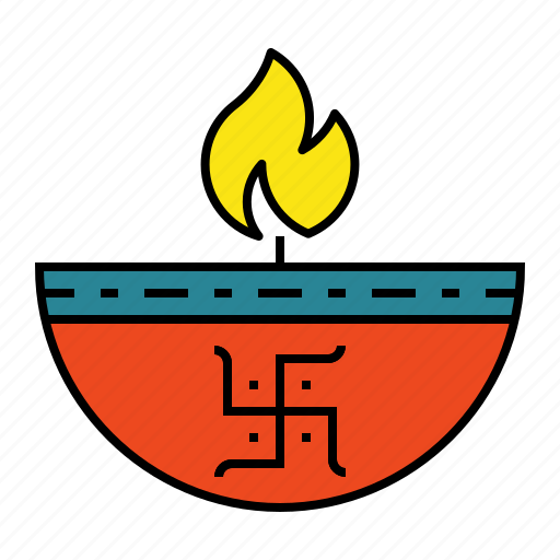 deepak, deepavali, divaa, diwali, diya, festival, lamp icon