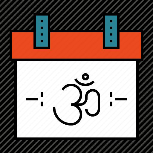 calendar, day, deepavali, diwali, festival icon