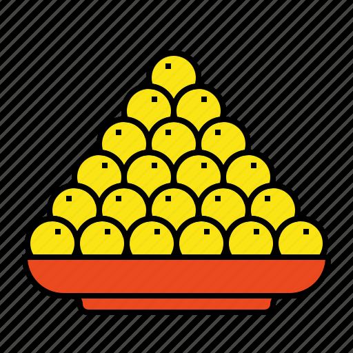 diwali, food, laddu, ladoo, sweet icon